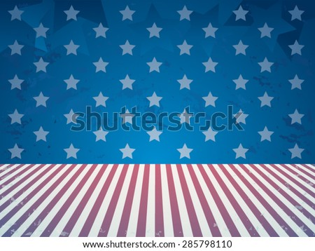 Independence day holiday background - stock vector