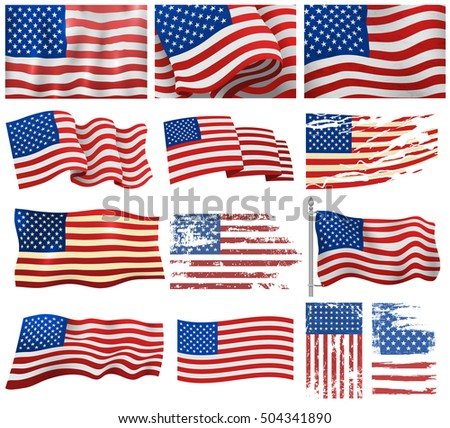 Independence day patriotic national symbol