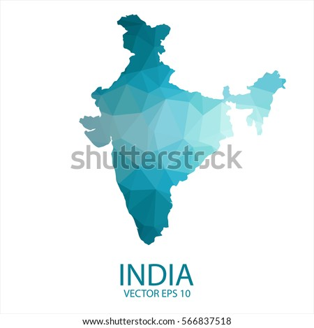India Map Stock Images RoyaltyFree Images Vectors Shutterstock - India map vector