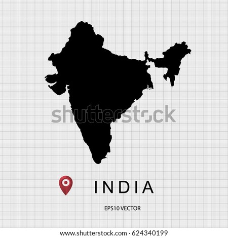 India Map Vector