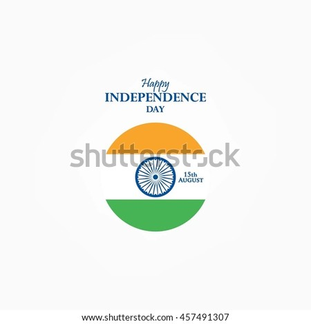 Indian Independence Day. Vector illustration