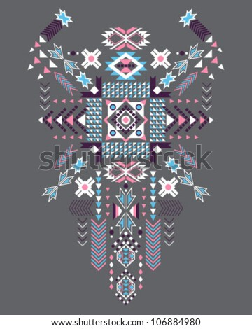 Indian Pattern - stock vector