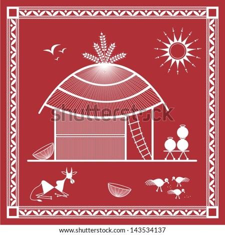 Easy Warli Painting For Kids | www.pixshark.com - Images ...