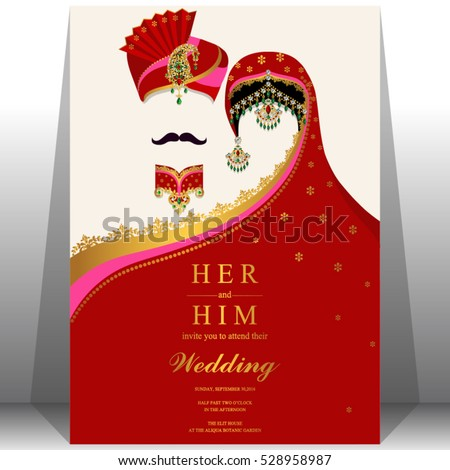 Marriage Invitation Card is best invitation layout