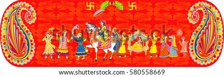 Indian Wedding Ceremony Indian Hindu Wedding Vector – All Indian Wedding Cards