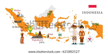 Indonesia Map Stock Images RoyaltyFree Images Vectors - Indonesia map