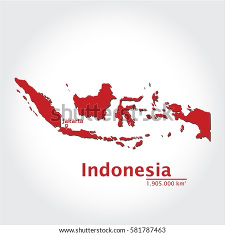 Indonesia map extensive state capital state stock vector 581787463 indonesia map with extensive state and capital state using for business education publicscrutiny Choice Image