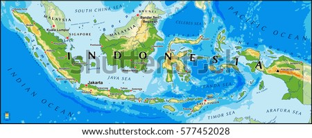 Fintech icon coin vectores en stock 715379149 shutterstock indonesia physical vector map with main cities and rivers gumiabroncs Image collections