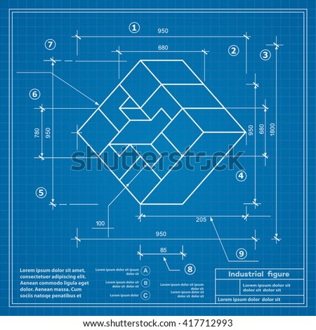 Industrial construction drawing production figures blueprint industrial construction drawing production figures blueprint background image malvernweather Image collections
