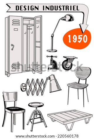 industrial design set