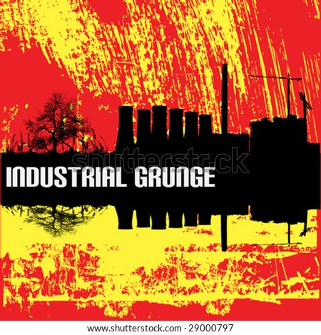 Industrial Grunge Background