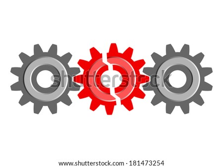 Industrial icon - stock vector