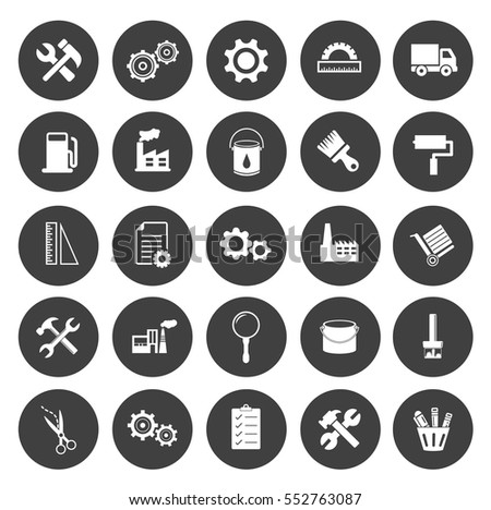 industrial icons - Industrial
