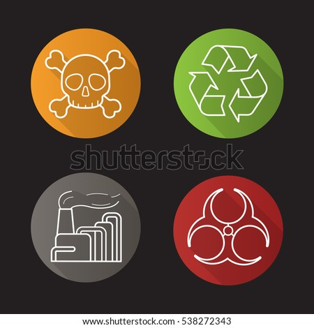 Air Pollution Skull : Poison stock photos royalty free images vectors