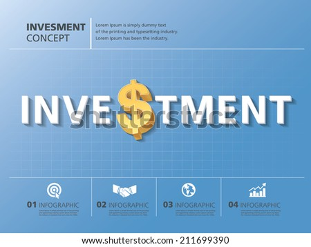 info graphic design, vector, template, investment, business,dollars