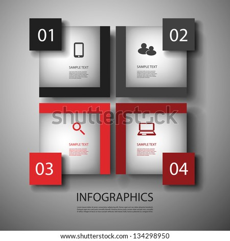 Infographic Design - stock vector