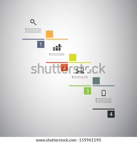 Infographic Design - stock vector