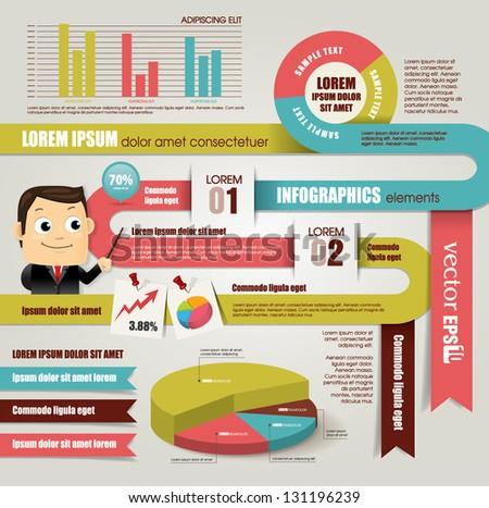Infographic Design Elements Stock Vector 131196239 - Shutterstock