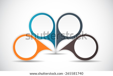 Infographic Design Elements for Your Business Vector Illustration.  - stock vector
