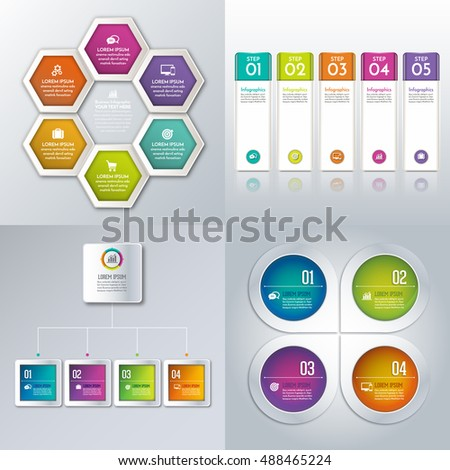 Infographic design vector and marketing icons can be used for workflow layout, diagram, annual report, web design. Business concept with options, steps or processes.