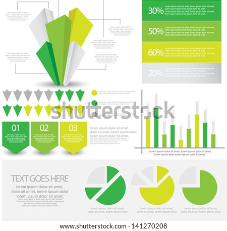 infographic element - stock vector