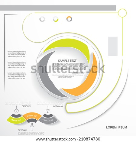 Infographic elements, vector illustration