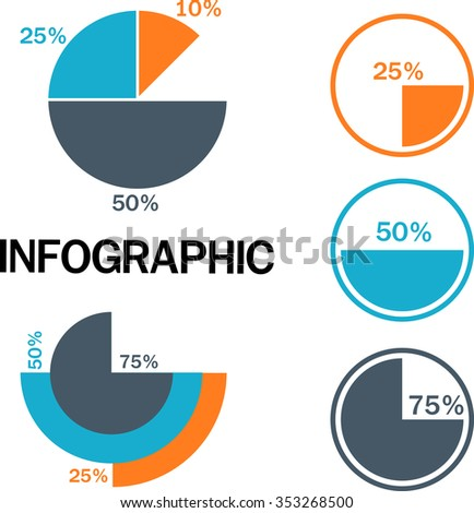 Infographic Essentials vector illustration - stock vector
