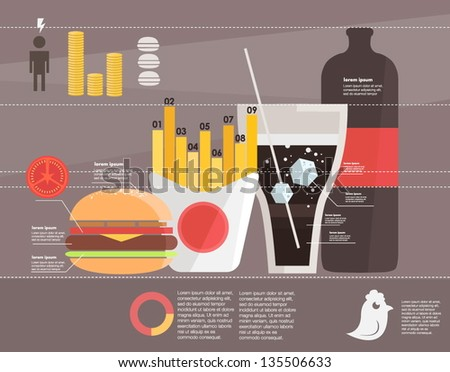 Food Infographic Stock Photos, Royalty-Free Images & Vectors ...