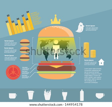 Infographic Fast Food