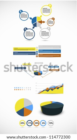 Infographic illustration - stock vector
