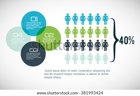 Recruitment Human Resource Infographics Template Space Stock ...