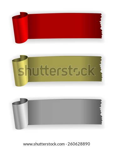 infographic rubber vintage banner design - stock vector