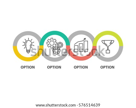 Infographic template business concept diagram idea stock vector infographic template business concept diagram idea strategy progress success vector eps maxwellsz