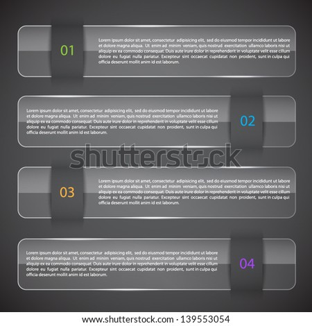 Infographic template. EPS10 vector