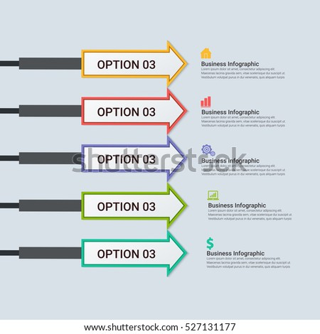 Infographic Templates for Business Vector Illustration. EPS10 Stock vector