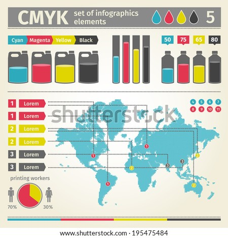 Infographic. Vector. - stock vector