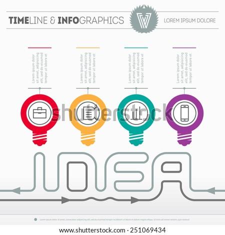 "Conjunto de ""Infographics and Timelines"" de Boris Znaev en ..."