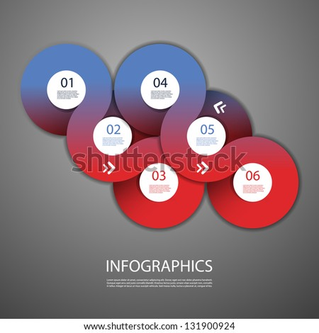 Infographics Cover - Circle Designs with Icons