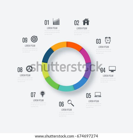binary options info infographics