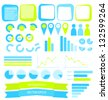 Infographics vector elements - stock vector