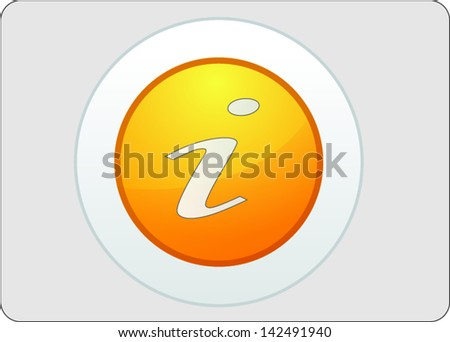 information, icon, internet, communication - stock vector
