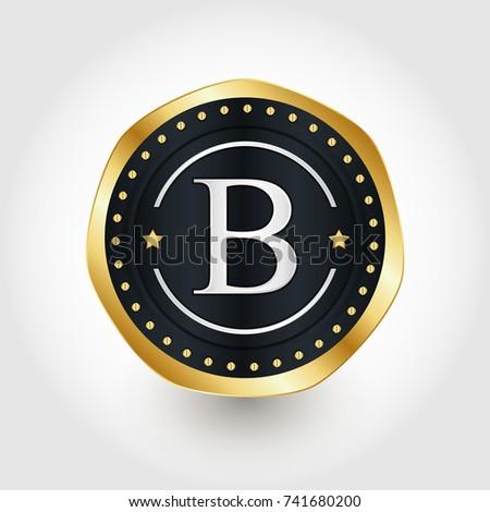Abstract Technology Bitcoin Symbol Virtual Money Stock ...
