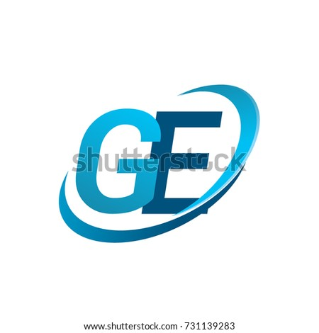 initial letter ge logotype company name stock vector 731139283 rh shutterstock com ge aviation logo vector ge oil & gas logo vector