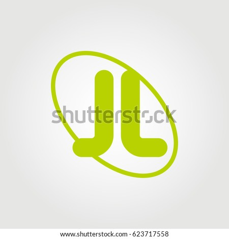 Jl Letter Logo Template on