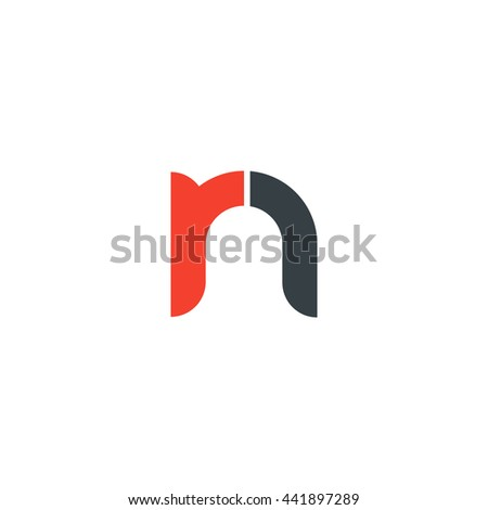 Initial letter rn linked round lowercase stock vector 2018 initial letter rn linked round lowercase logo red altavistaventures Gallery