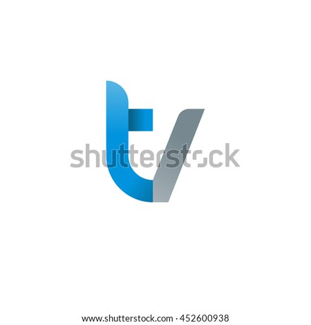 blue letter loans creative element logo finance heavy industry stock vector 5708