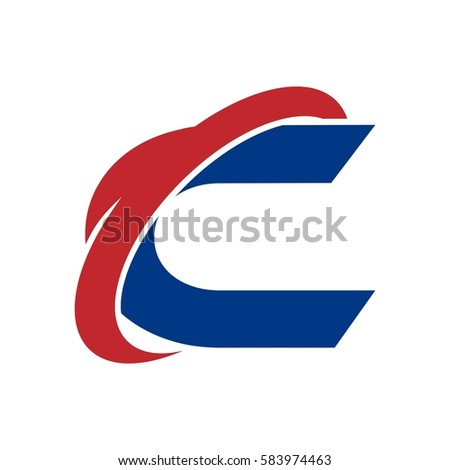 C Logo Red And Blue Red And Blue C Logo | ...