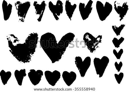 Ink spots - stock vector