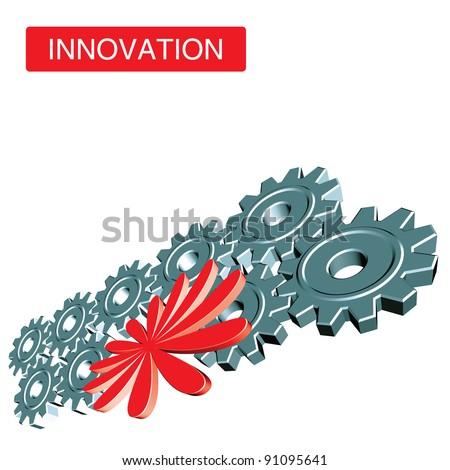 innovation, PR, voting, advertisement, promotion concept illustration - stock vector