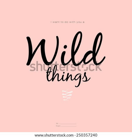 wild thing stock images royalty free images vectors